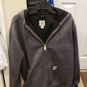 Carhartt Shirts - Carhartt heavy duty zip up sweatshirt medium